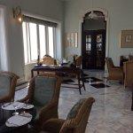 Breakfast area in Sea Lounge