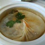 Soup dumpling is delicious