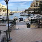 Portomaso Marina adjacent to the hotel - 22nd December 2017