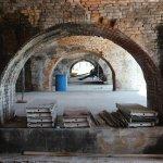 Ft Pickens--millions of bricks