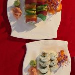 Sushi dishes. Great for gluten free dining!
