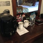 Superior Double Bedrooms with Tassimo coffee machine, complimentary tea/coffee & bottled water.