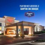 Plan your next adventure at the Hampton Inn Dubuque