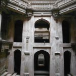 View of architecture of Adalaj step well