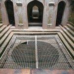 View of Adalaj step well
