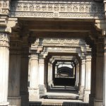 Showing beautiful carved columns