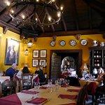 Casa Santa Maria rear dining room