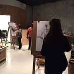 You must be 18 to join the figure drawing class but at $35 range, It was a no-brainer.