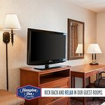"37"" HDTV in every room, kick back and relax and enjoy premium channels"