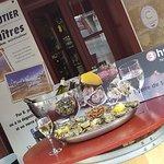 Le samedi matin, rien de mieux qu'une douzaine d'huître partagée avec un verre de Saumur blanc !