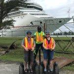 segway tour near the harbor