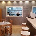 modernisiertes Restaurant