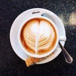 Cappuccino am Morgen