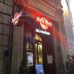 Bilde fra Hard Rock Cafe Glasgow