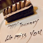 A farewell treat from Govind, excellent service.