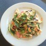 Chinese Tofu salad (Vegan)