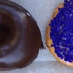 CHocolate with Chocolate Glaze and The Purple Glaze, signature sweet