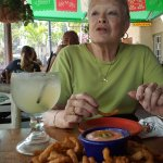 Toothpicks and a MiPueblo margarita
