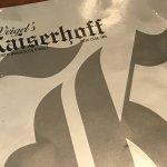 Kaiserhopp menu