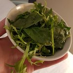 Room service green salad for £3 is a quick way to waste money. Disappointing as lots of menu opt