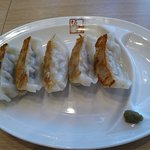Fried Gyoza served at Kitakata Ramen Ban Nai in Buena Park, CA
