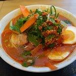 Spicy Miso Ramen served at Kitakata Ramen Ban Nai in Buena Park, CA