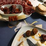 Lovely pork sausages and charcuterie