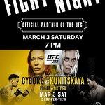 FIGHT NIGHT at CVI Saturday, March 3