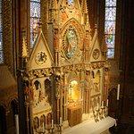 Side-chapel altar
