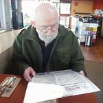 FRANK WITH EXTENSIVE MENU