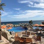 Main Pool on ocean beach