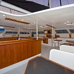 Starboard side cabin view.