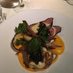 """Yummy mushroom risotto and the """"best steak entree """" ever!!!"""