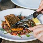 Vegetarian Food, Salmon, light meals, Lunch