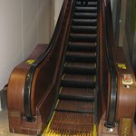 1920's Escalator, Macy's NYC.