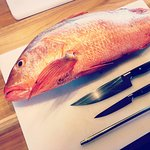 Red Snapper, frest fish of the day