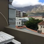 View of Table Mountain from private terrace