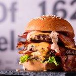 Triple Down Champion Bacon Cheeseburger