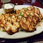 Grilled chicken with rice pilaf