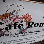 CAFE ROMA BANNER