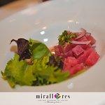 Ceviche Miraflores, el mas fresco atún y notas nikkei
