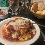 La lasagna más rica que comí en toda mi vida. ¡Bocatto di cardinale! Imperdible