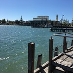 Along the Boardwalk to the Mandurah Performing Arts Centre