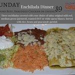 Sunday: Enchilada Dinner