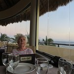 italian dinner with great view