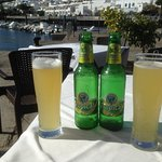 The legendary Tropical Limon beer at Cofradia de Pescadores la Tinosa.