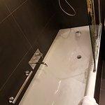 The bath.