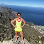 Top of the mountain overlooking camps bay