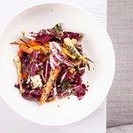 Wege salat - baked vegetables