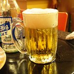 Icy cold beer
